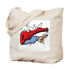"""Objection! [Phoenix Wright]"" Tote Bag"
