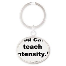 Intensity Oval Keychain