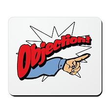 """Objection! [Phoenix Wright]"" Mousepad"