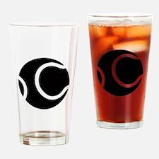Tennis Ideology Drinking Glass