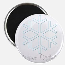 Winter Caching Magnet