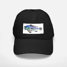 blackseabasscolored Baseball Hat