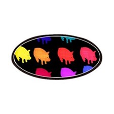 Rainbow Pigs Patches