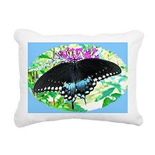 Spicebush Swallowtail Bu Rectangular Canvas Pillow