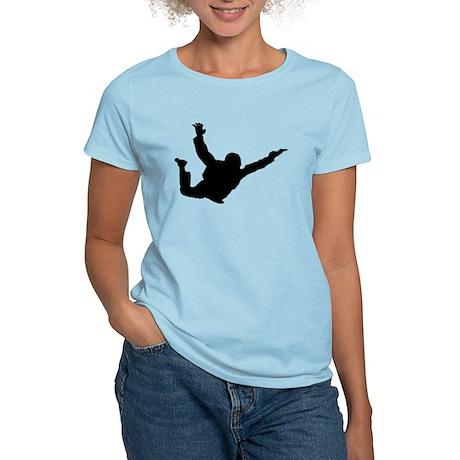 Freefall Silhouette 2 (Black) T-Shirt