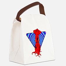 SQUID_ILLUSION Canvas Lunch Bag