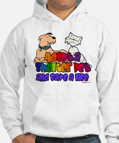 Adopt Shelter Pet (Rainbow) Sweatshirt