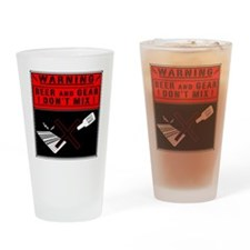 gearbeer Drinking Glass