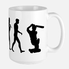 Evolution of Cricket Mug