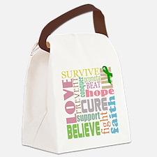 tbi-wordscollage-light Canvas Lunch Bag