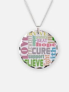 tbi-wordscollage-light Necklace