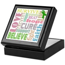 tbi-wordscollage-light Keepsake Box