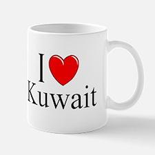 """I Love Kuwait"" Mug"