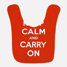 Keep Calm and Carry On Bib