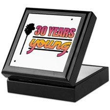30 Years Young (Birthday) Keepsake Box