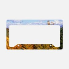 vermont-fall-poster1 License Plate Holder