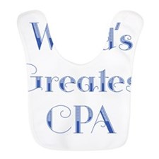 Worlds Greatest CPA Bib