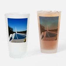 Sundial Bridge Redding, CA Drinking Glass