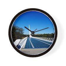 Sundial Bridge Redding, CA Wall Clock
