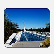 Sundial Bridge Redding, CA Mousepad