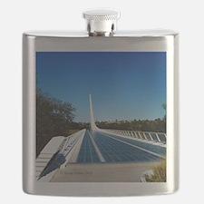 Sundial Bridge Redding, CA Flask
