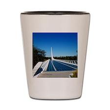 Sundial Bridge Redding, CA Shot Glass