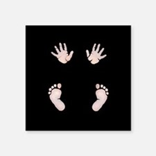 Baby Hands and Feet Maternity Sticker