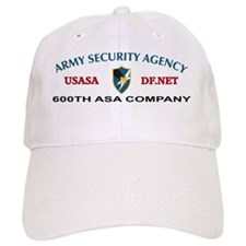 600th-asa-company Baseball Cap