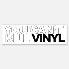 vinyl Bumper Bumper Sticker