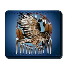 DreamcatcherFlyingHawk Mousepad