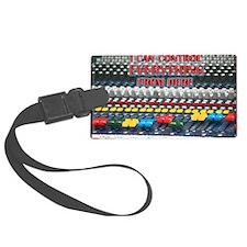 Audio Control Luggage Tag