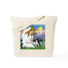 Angel Love (S) - Boston Terrier 3 Tote Bag