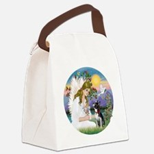 R-Angel Love - Boston Terrier 3 Canvas Lunch Bag