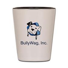 BWInc logo blue textbelow JPG Shot Glass