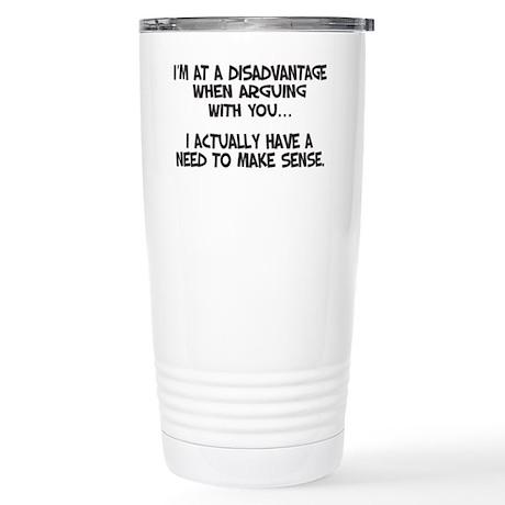 Disadvantage Stainless Steel Travel Mug