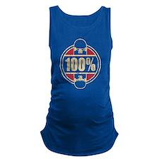 100% skateboarder Maternity Tank Top