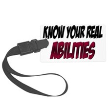 real abilities Luggage Tag