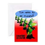 Cloned (Congrats) Greeting Cards (Pk of 10)