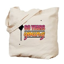 60 Years Young (Birthday) Tote Bag