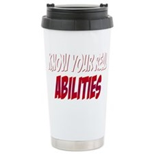 real abilities_dark Travel Mug