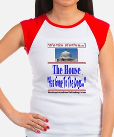 The House Has Gone To T Women's Cap Sleeve T-Shirt