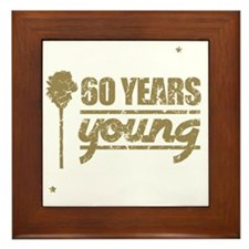 60 Years Young (Birthday) Framed Tile
