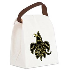 DONT TREAD GOLD BLACK Canvas Lunch Bag