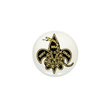DONT TREAD GOLD BLACK Mini Button
