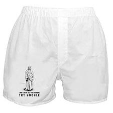 trygoogle-white Boxer Shorts