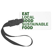 eat-good Luggage Tag