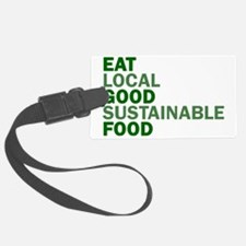 eat-good Luggage Tag