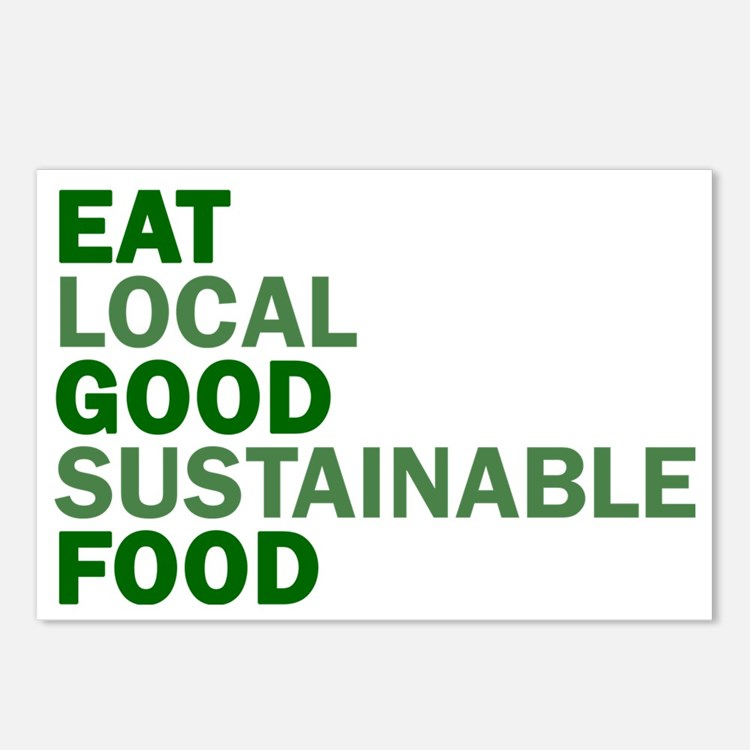 eat-good Postcards (Package of 8)