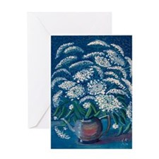 Queen-Annes-Lace-greeting-card Greeting Card