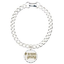 70 Years Young (Birthday Bracelet